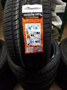 BRAND NEW PAIR ALL SEASON POWERTRAC TIRES 255/35/R18 WHEELS RIMS SPORT 255 35 18