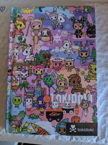 Tokidoki Cotton Candy Dreamin Hardcover Notebook