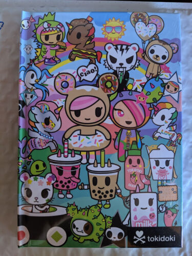 Tokidoki Rainbow Friends Hardcover Notebook