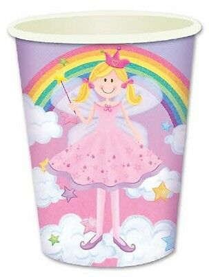 BULK BUY~ 16x Princess Fairy Themed Paper Party Cups.](Fairy Themed Party)
