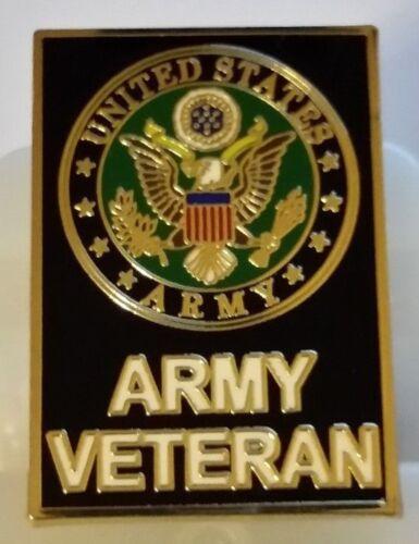 "US ARMY ""VETERAN"" large 1.5 inch  Pin"