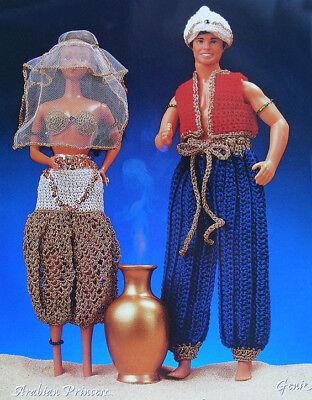 Arabian Night Outfit (Crochet Pattern Only ~ Barbie & Ken Arabian Nights Outfits ~ Fashion)