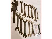 **£25** JOB LOT of Tools, Spanners, Allen Keys etc