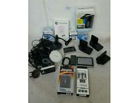 JOBLOT OF MIXED CONSUMER ELECTRONICS INC IN-CAR CAMERAS & SAMSUNG WIRELESS PADS
