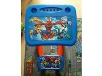 Marvel children's desk with seat