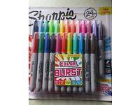 Sharpie Limited Edition Colour Burst Fine Permanent Marker Pens