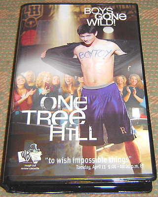One Tree Hill Rare Collectors Vhs Video  05 James Lafferty  Chad Michael Murray