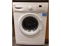 Large 8kg load Beko washing machine. 18mth old in excellent condition can drop off free if local