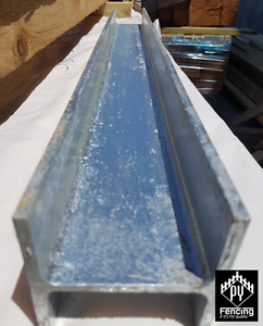 Galvanised H, C, Angle Sections For Retaining Walls Sleepers Seaford Frankston Area Preview