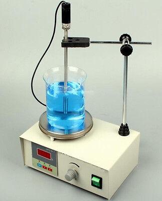 85-2 Laboratory Hotplate Magnetic Stirrer 110v Chemistry Digital Stir Mixer 1l