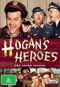Hogan's Heroes: Season 3 (DVD, 2009, 5-Disc Set), NEW SEALED REGION 4
