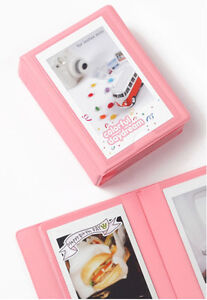 Mini-Polaroid-Photo-Album-S-for-Fuji-Instax-mini-name-credit-cards-Indi-pink