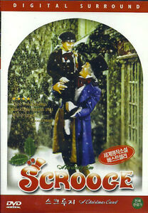 A Christmas Carol Scrooge (1951) New Sealed DVD Alastair Sim