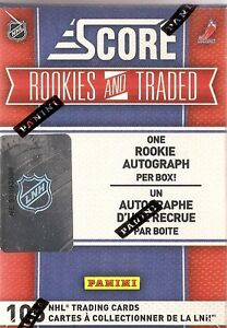 10-11  Score Hockey Rookie and Traded Hobby Box (1 Auto)