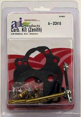 Allis Chalmers Carburetor Kit For Zenith Model B Rc