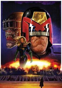 Judge Dredd A3 Poster