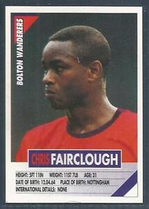 PANINI-SUPERPLAYERS-1996-050-BOLTON-WANDERERS-CHRIS-FAIRCLOUGH