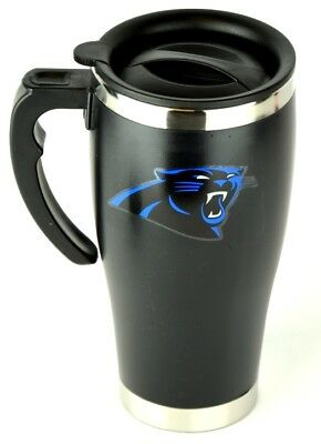 Carolina Panthers NFL Football Thermobecher Isolierbecher Travel Auto Mug - Carolina Panthers Travel Mug