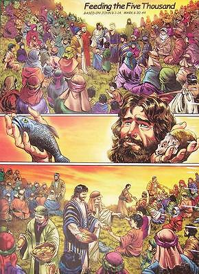 Jigsaw puzzle Biblical Feeding the 5000 Five Thousand 1000 piece NEW Made in - Feeding 5000
