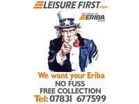 Eriba Touring's Wanted, Still Buying/Collecting in Lockdown - liquidate your Eriba today!