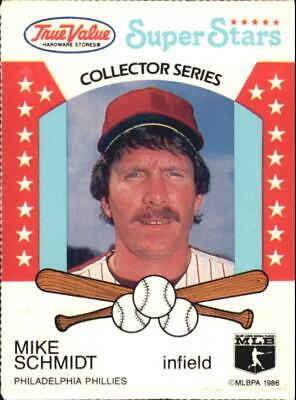 1986 (PHILLIES) True Value #28 Mike Schmidt