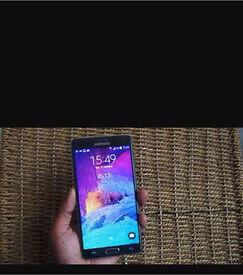 Samsung galaxy note 4 unlocked excellent cond