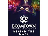x2 BoomTown Fair Tickets 2017