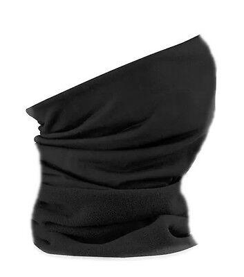 Multifunktionstuch Halstuch Schlauchtuch Kopftuch Motorrad Schwarz Biker g3