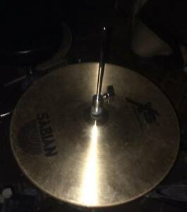 """sabian xs20 14"""" hi hats with stand"""