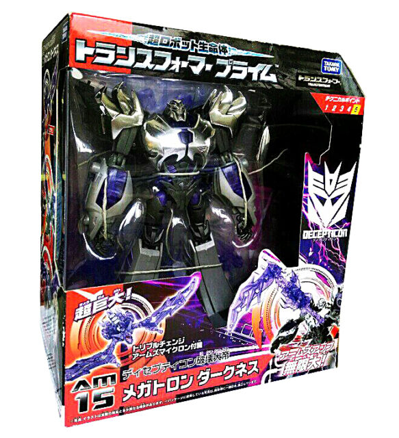 Transformers Takara AM-15 AM15 Prime Megatron Darkness Japan Figure 100% NEW AU