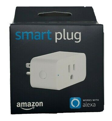 Amazon Smart Plug Works With Alexa App Voice Control NEW Outlet Lights Fans