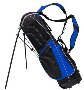 TiTech-Carry-Lite-Golf-Stand-Bag-Clubs-Full-Size-Blue