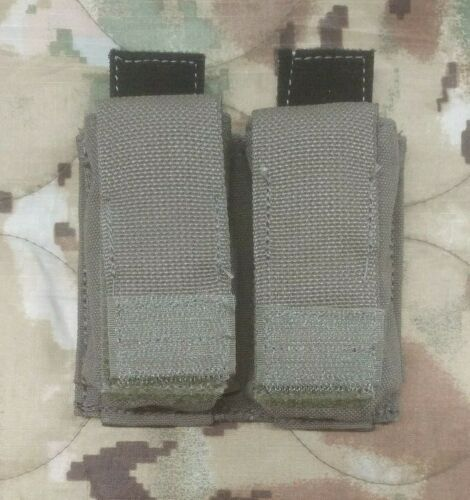Ranger Green MOLLE M-9 Double Mag Pouch w Kydex Insert Eagle Industries USGI NOS