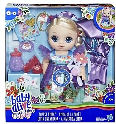 Baby Alive Once Upon a Baby: Forest Tales Forest Emma 15+ Sounds for sale  Waco