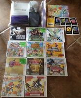 Nintendo 3DS + games and extras