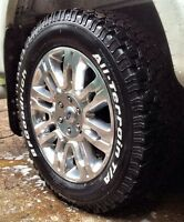 4 X BFGoodrich All Terrain KO tires 285/55/20