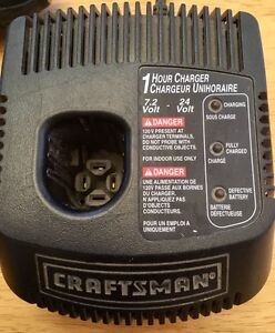 Craftsman Drill, Jigsaw, Charger. 19.2 V Peterborough Peterborough Area image 5