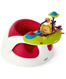 Baby Snug With Play Tray - Red
