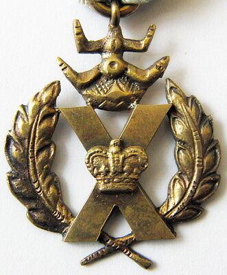 British Vintage Medal X Cross Original in Box