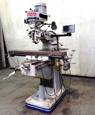 Birmingham Knee Mill Milling Machine Vertical Milling Bps-16429 X 42 Table