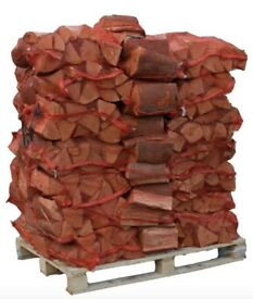 Seasoned Firewood Logs Ready To Burn Hard Soft Wood Only £3.99 Or 3 Nets £10 Call 0161 962 9127