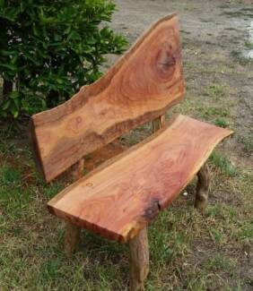tree seats garden furniture. Unique Seats Rustic Outdoor Timber Slab Bench Seats On Tree Seats Garden Furniture