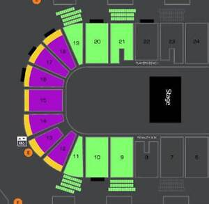 AMAZING ARKELLS LOWER BOWL AND FLOOR TICKETS FOR SALE !!!