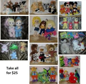 Stuffed Toys/Animals Lot (Take all for $25)