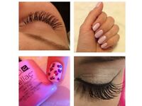 WAXING, SHELLAC AND EYELASH EXTENSIONS