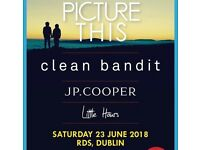 Picture This RDS Dublin - 2 tickets 50£