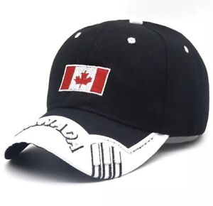 Canada 3D Embroidery Fashionable Design Base Ball Cap