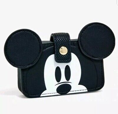 DISNEY MICKEY MOUSE FACE ACCORDION WALLET NEW WITH TAGS