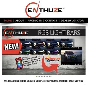 Enthuze Lightbars Dodge,Ford,GMC,Chevrolet 30/40/50/curved