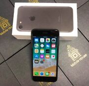 Good Condition iPhone 7 Matt Black 256G with Warranty+Tax Invoice Beenleigh Logan Area Preview